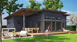 Maison Préfabriquée En Bois : mod les et plans de la maison bois kuusisaari kontio ~ Premium-room.com Idées de Décoration