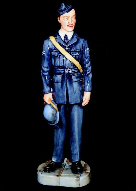 royal doulton raf corporal prestige nostalga figurine