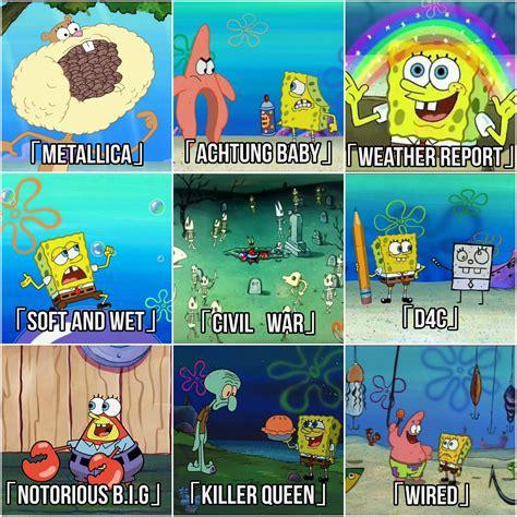Spongebob Jojo Memes - stands as represented by spongebob jojo s bizarre adventure know your meme
