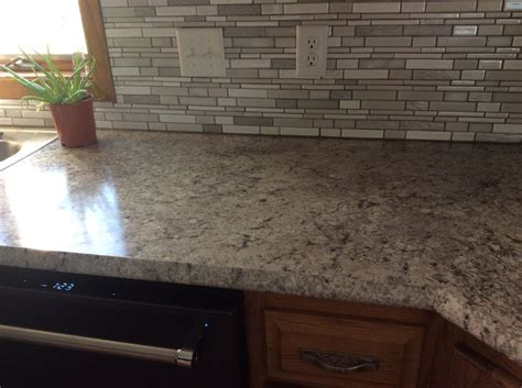 kitchen countertops backsplash countertop formica argento romano with ideal edge