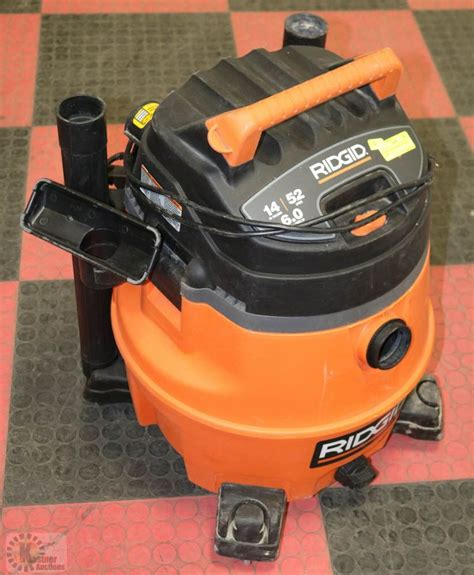 Ridgid 14 Gal Shop Vac With Hose  Kastner Auctions