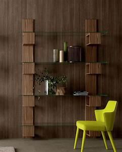 Bibliothèque En Verre : infinity biblioth que en bois et verre idd ~ Teatrodelosmanantiales.com Idées de Décoration