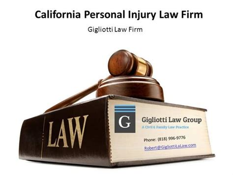 California Personal Injury Law Firm |authorstream