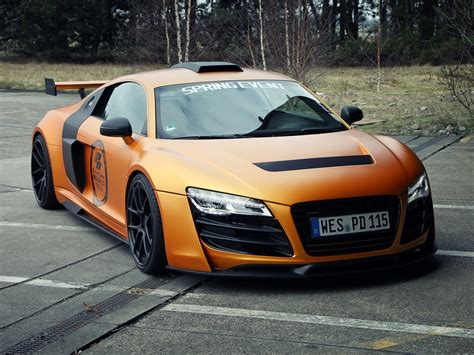 audi r8 modified audi r8 prior design gt850 drag racing modified cars