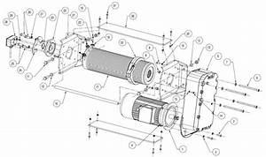 Figure 9-1a  U0026quot C U0026quot  Frame Hoist Components