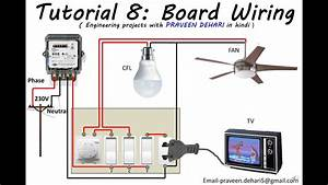 Electrical Board Wiring   Tutorial 8