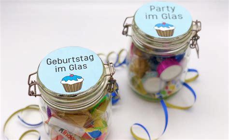 geschenke für kollegen selber machen diy geschenke zum geburtstag einfache geschenkideen im glas