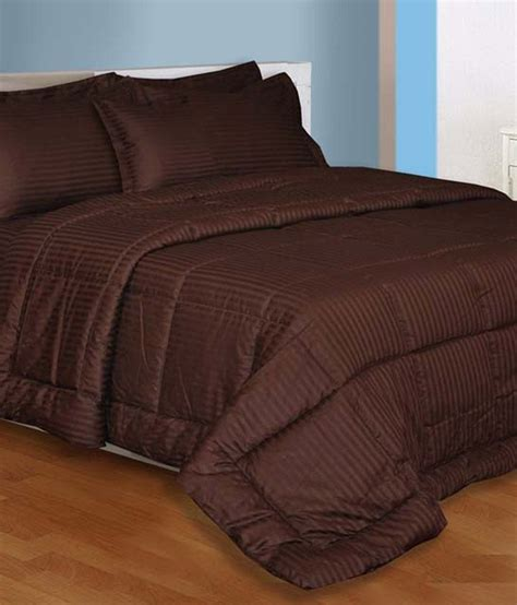elegance cotton mehroon colour bed sheet