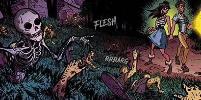 Cellar Horror Door Novel Graphic Scifi Inside