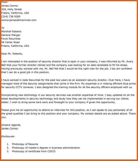 Email Cover Letter For Resume Exles by Cover Letter Email Sle Apa Exles