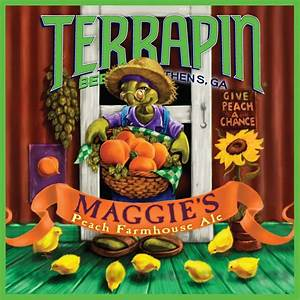 Terrapin Beer Co. Releases Maggie's Peach Farmhouse Ale ...