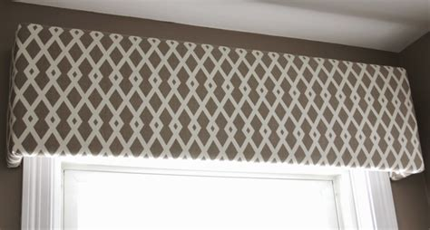 cornice board valance fabric covered cornice board how to hang it shine