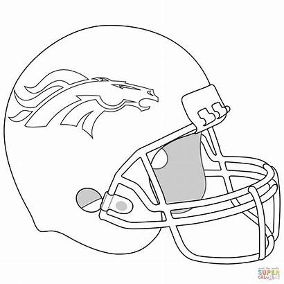 Coloring Pages Rugby Football Printable Getcolorings