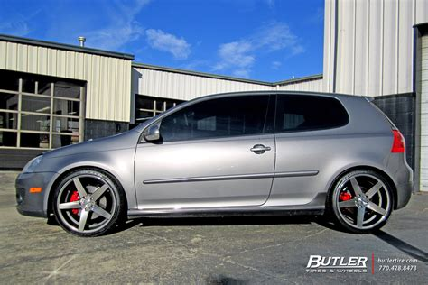 vw golf   tsw sochi wheels exclusively  butler
