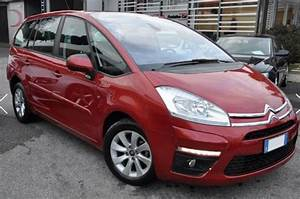 Lhd Citroen C4 Grand Picasso  10  2011  - Red Metallic