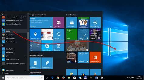 creer raccourci bureau windows 10 créer un raccourci d 39 une application sur le