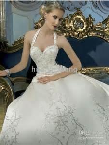 wedding dress corset top halter top wedding dress reviews halter top wedding dress buying guides on dhgate