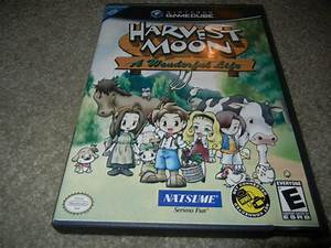Harvest Moon A Wonderful Life Nintendo Gamecube Game W