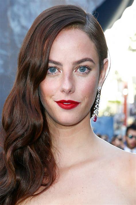 Kaya Scodelario Red Lipstick   Newest Looks   StyleBistro