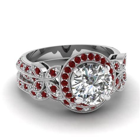 White Gold Round White Diamond Engagement Wedding Ring Red. Tire Rings. Mini Engagement Rings. Oval Halo Engagement Rings. Raw Ruby Wedding Rings. Gender Neutral Wedding Rings. Twisted Setting Rings. Bezel Set Diamond Rings. Trillion Rings