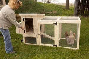Back Yard Portable Chicken Co-op