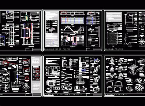 lift details dwg plan  autocad designs cad