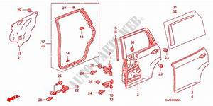 Rear Door Panels For Honda Cars Jazz 1 4 Se 5 Doors 5