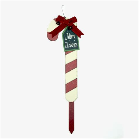 32 inch red and green led merry christmas sign time 32 inch wooden yard stake decoration merry walmart
