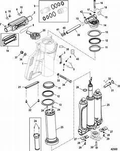 Mercury Marine 350sci Verado Power Trim    Steering