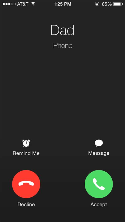 iphone call screen the evolution of ios 7 tip tech news