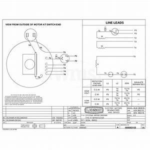 110088 00 1hp Leeson Farm Duty Electric Motor