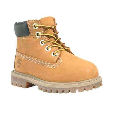 timberland 6 inch premium 12809 toddler leather wheat 338 | s l1000