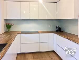 Rückwände Für Küchen : glas k chenr ckw nde mit lackierung nach ral oder ncs farbraum kgs ~ Watch28wear.com Haus und Dekorationen