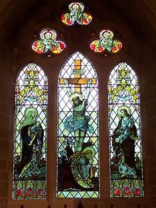 File:Stained Glass Window, St Hilda's Church, Ampleforth.jpg