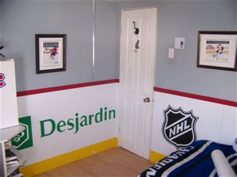 chambre canadien chambre d 39 hockey artiste peintre mario clouston