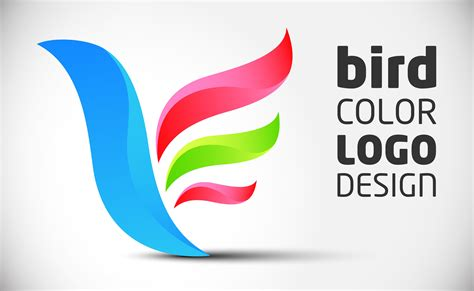 How To Create Logo Design (color Bird) In Adobe