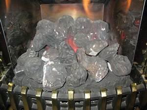 Gas Fire Coals On Potterton Housewarmer Fire