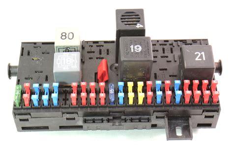 Power Fuse Box City by Fuse Box Fuse Block Fusebox 85 92 Vw Jetta Golf Gti Mk2