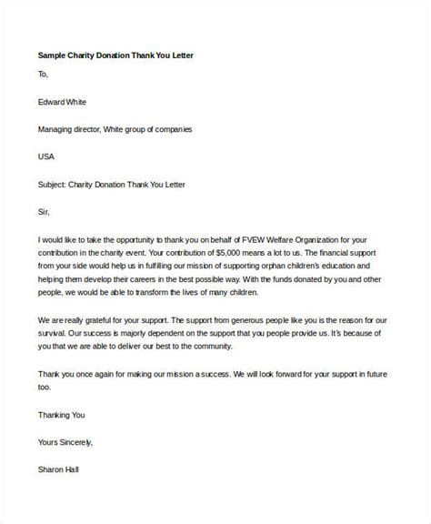 donation   letter template rota template