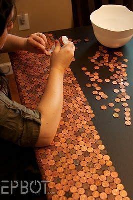 28 best Penny art images on Pinterest   Coin crafts
