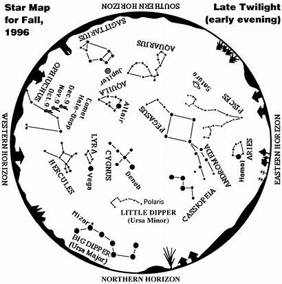 Constellations Constellation Star Map Chart Simple Astronomy