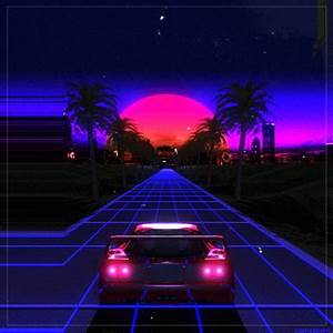 Outrun Loop GIF by Kidmograph