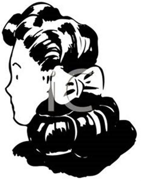woman   hair tied    ribbon royalty