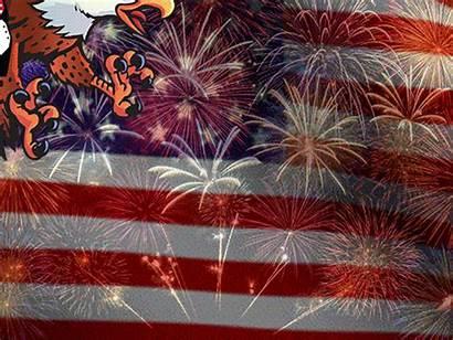 July America Eagle Fourth Flying Gifs Animated