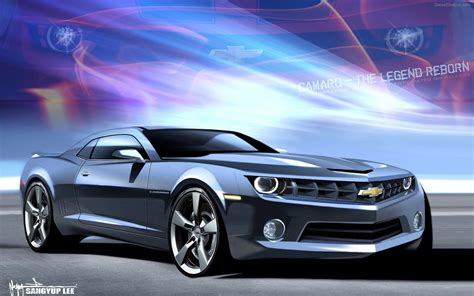 Chevrolet Camaro 2018 Widescreen Exotic Car Wallpapers 02