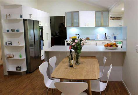 L Shaped Small Kitchen Ideas - u shaped kitchen designs u shape gallery kitchens brisbane