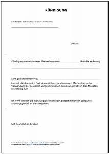 Mietvertrag Was Beachten : k ndigung mietvertrag formulare gratis ~ Lizthompson.info Haus und Dekorationen
