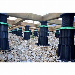 Plot Reglable Terrasse : plot terrasse lambourde r glable jouplast pour terrasse en ~ Edinachiropracticcenter.com Idées de Décoration