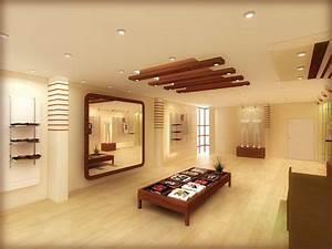 Down model d free false ceiling design for living room
