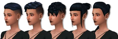 So i made my own version of such a mod Sims 4 Maxis Match Finds — Hello! I've recently been obsessed with shaved...